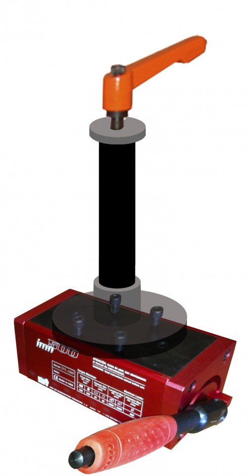 base magnetica para roscadoras neumáticas