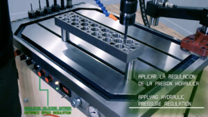 Machine à tarauder hydraulique Gamor